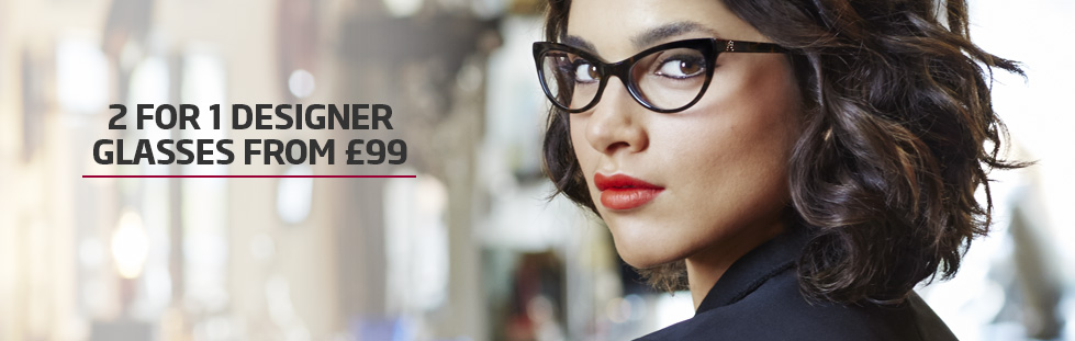 2 for 1 glasses from £99