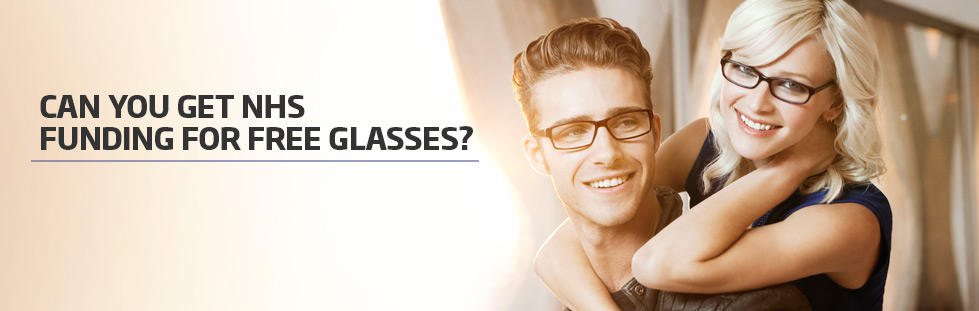Free glasses with your NHS Optical Voucher