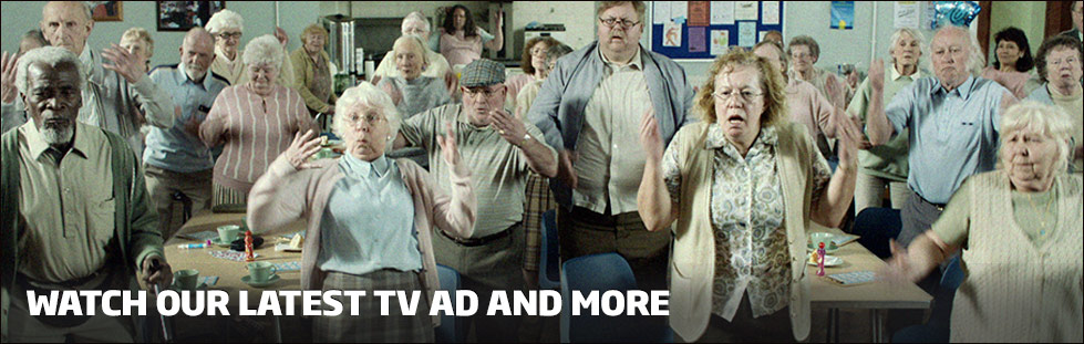 Watch our latest TV ad and more
