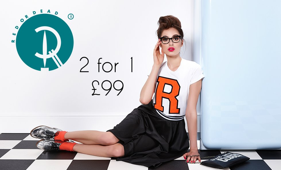Red or Dead - 2 for 1 £99