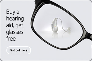 Buy a hearing aid, get glasses free