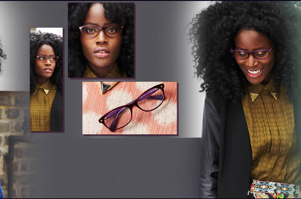 Breeny ASOS look 3 - French Connection 109 glasses £99