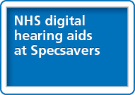 NHS digital hearing aids at Specsavers