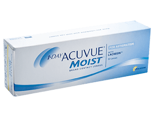 1 Day ACUVUE Moist for Astigmatism Johnson & Johnson